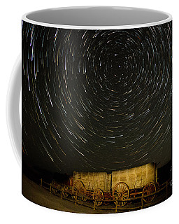 Wagon Wheel In The Sky Coffee Mug