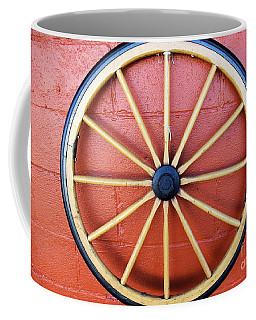 Wagon Wheel Coffee Mug by John S