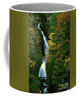 Wahkeena Falls Waterfall Coffee Mug