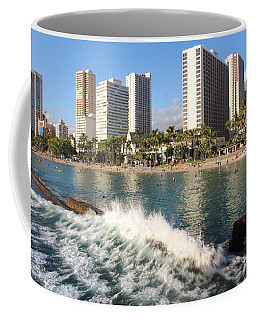 Waikiki Breakers Coffee Mug