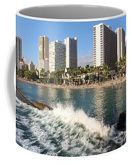 Waikiki Breakers Coffee Mug