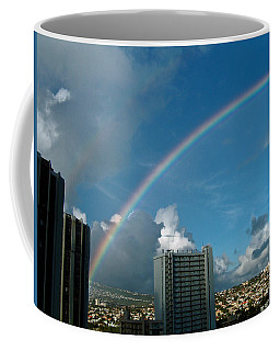 Waikiki Rainbow Coffee Mug