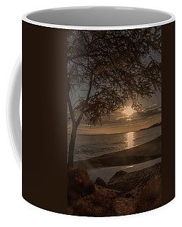 Waimea Bay Sunset 4 Coffee Mug
