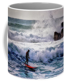 Waimea Bay Surfer Coffee Mug