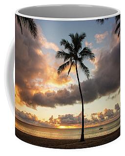 Waimea Beach Sunset - Oahu Hawaii Coffee Mug