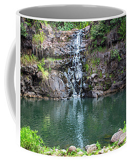Waimea Waterfall Horizontal Coffee Mug