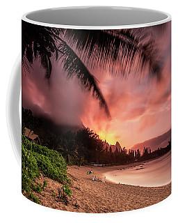 Wainiha Kauai Hawaii Bali Hai Sunset Coffee Mug