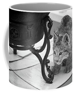 Coffee Mug featuring the photograph Wait For It by Tim Newton