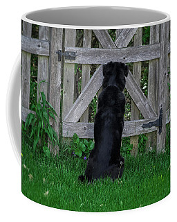 Waiting At The Gate Coffee Mug