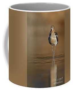 Waiting Avocet Coffee Mug