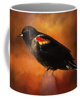 Waiting - Bird Art Coffee Mug