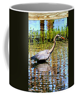 Coffee Mug featuring the photograph Waiting For Dinner by Lisa Wooten