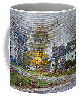 Waiting For First Snowfall Coffee Mug