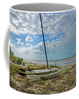 Coffee Mug featuring the photograph Waiting For Good Weather by Paul Mashburn