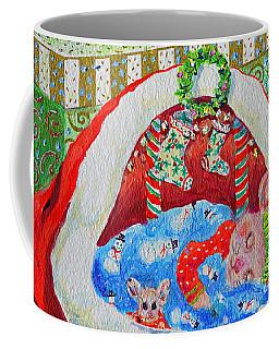 Waiting For Santa Coffee Mug by Li Newton