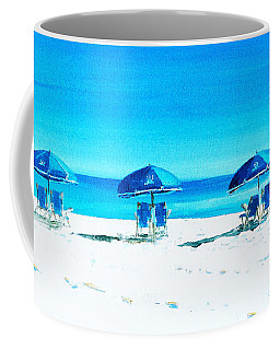 Waiting For The Beach Sitters Coffee Mug