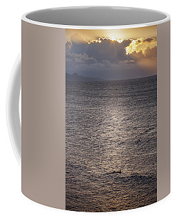 Waiting For The Last Wave Of The Day Coffee Mug