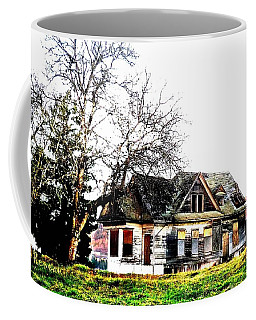 Coffee Mug featuring the photograph Waiting For The Light 2 by Sadie Reneau