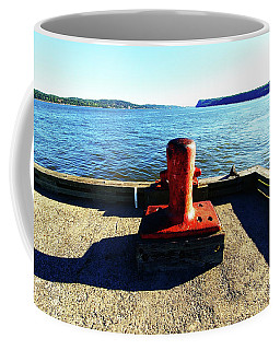 Waiting For The Ship To Come In. Coffee Mug