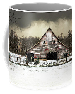 Coffee Mug featuring the photograph Waiting For The Storm To Pass by Julie Hamilton