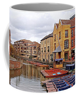 Coffee Mug featuring the photograph Waiting For The Tourists Cambridge by Gill Billington
