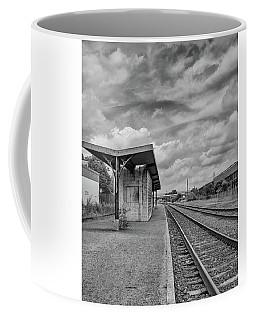 Waiting For The Train Coffee Mug