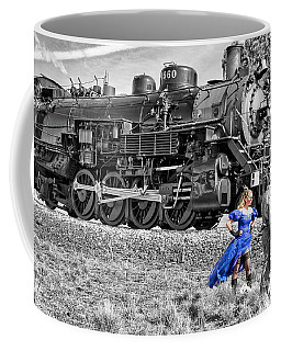 Waiting For The Train Coffee Mug