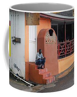 Coffee Mug featuring the photograph Waiting by Gary Wonning