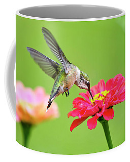 Coffee Mug featuring the photograph Waiting In The Wings by Christina Rollo