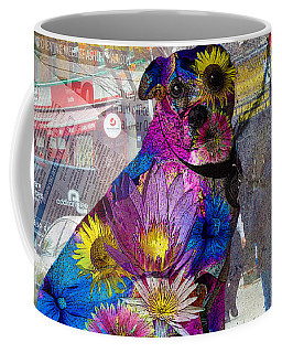 Waiting Coffee Mug by Judi Saunders