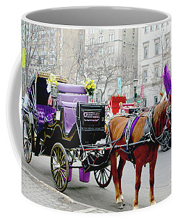 Coffee Mug featuring the photograph Waiting by Sandy Moulder