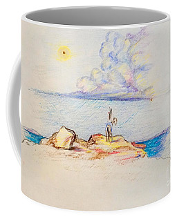 Waiting Upon The Storm Coffee Mug