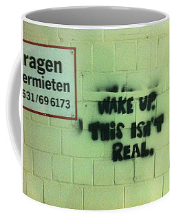 Coffee Mug featuring the photograph Wake Up by Christin Brodie