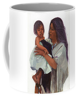 Wakin Up Sacajawea And Pomp Coffee Mug