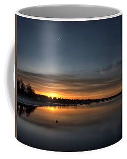 Waking To A Cold Sunrise Coffee Mug