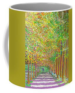 Walk In Park Cathedral Coffee Mug