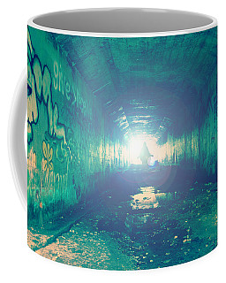 Coffee Mug featuring the photograph Walk In The Light by Joel Witmeyer