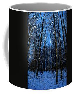 Walk In The Snowy Woods Coffee Mug