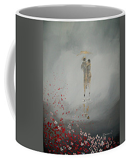 Walk In The Storm Coffee Mug by Raymond Doward