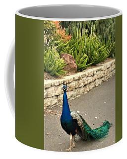 Walk The Line Coffee Mug by Kruti Shah