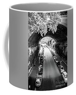 Walk The Tunnel Coffee Mug by Perry Webster