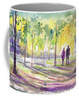 Walk Through The Woods Coffee Mug