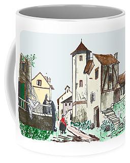 Walk Through Town Coffee Mug