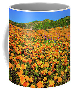 Walker Canyon Wildflowers Coffee Mug