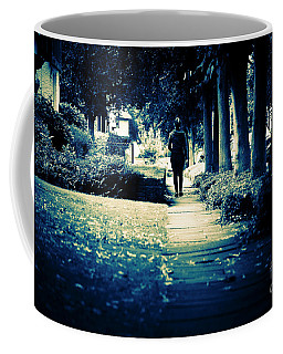 Walking A Lonely Path Coffee Mug