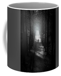 Walking Alone Coffee Mug