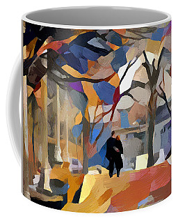 Walking Alone Coffee Mug