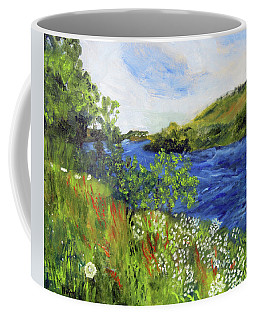 Walking Along The Moselle Coffee Mug