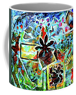 Walking Amongst The Monarchs Coffee Mug by Genevieve Esson