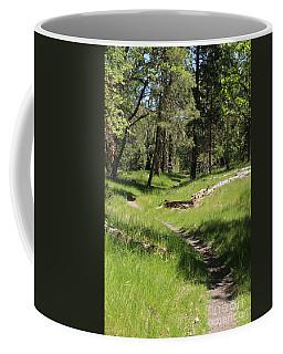 Walking At Fish Hatchery Coffee Mug